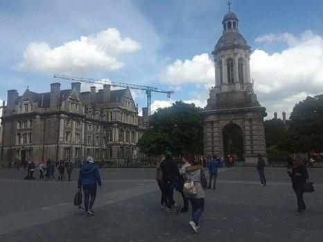 Views of Trinity College.