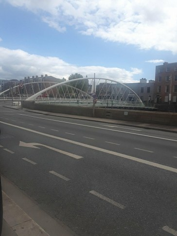Pictured here is the James Joyce Bridge.