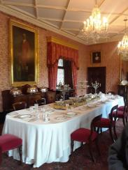 Dining room in Kilkenny Castle.