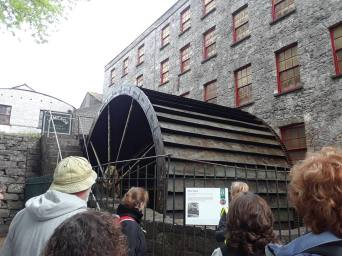 Water wheel that powered the Jameson Midleton Distillery before electricity.