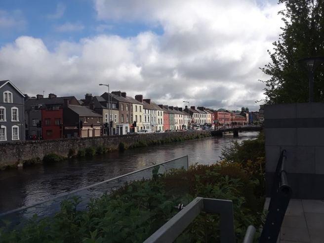 View of Cork City.