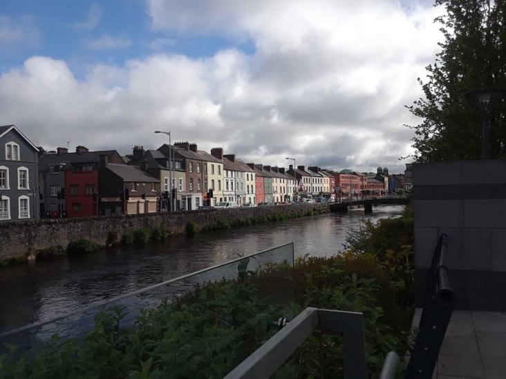 View of Cork City.