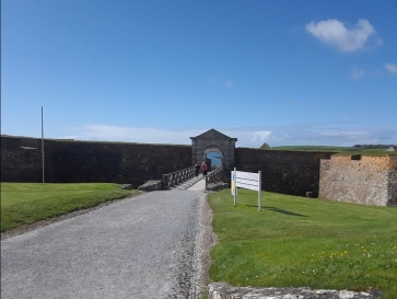 Entrance to Charles Fort.