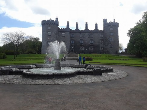 View of Kilkenny Castle from the gardens.