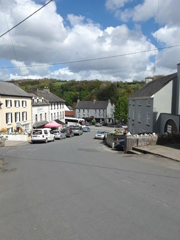 Street in Inistioge.