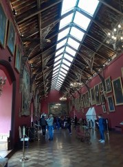 Gallery inside Kilkenny Castle.