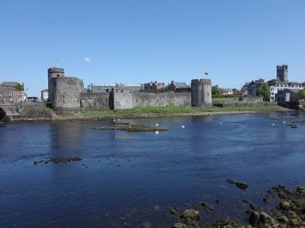 King John's Castle in Limerick.
